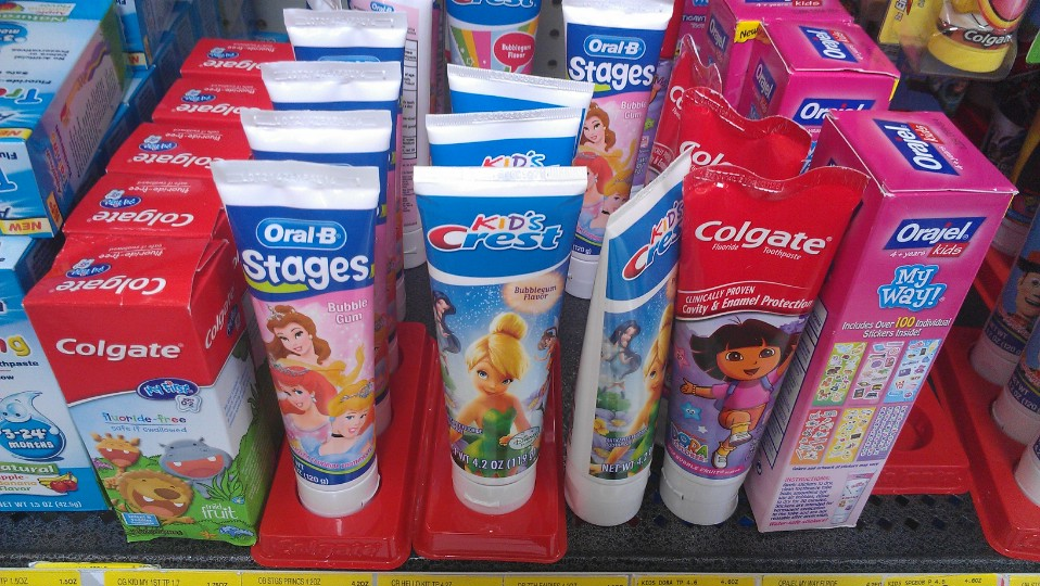 Character Toothpaste - Disney Princesses and Fairies #SpinbrushCFK