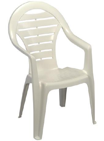 Jardin plastique chaises