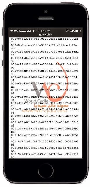 تسريب 700 ألف رقم UDIDs من مستخدمين الجيلبريك