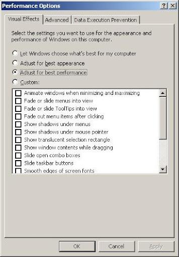 Trik Meringankan Kerja Window Xp