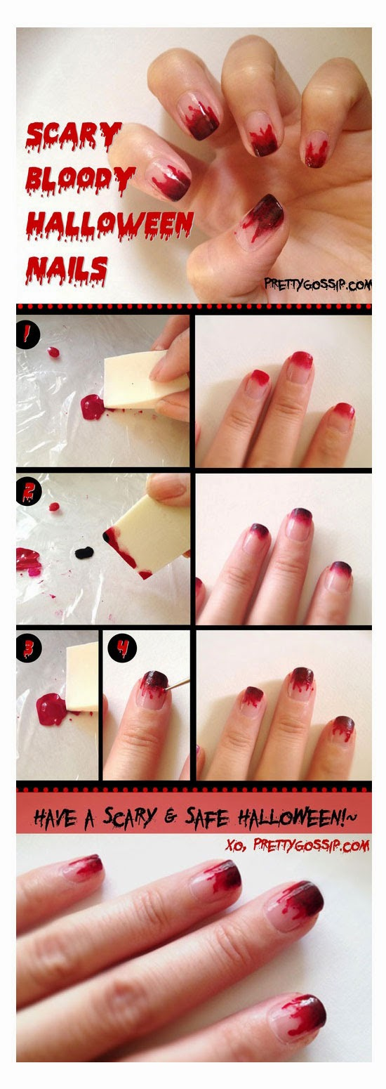 easy nail art tutorials for short nails
