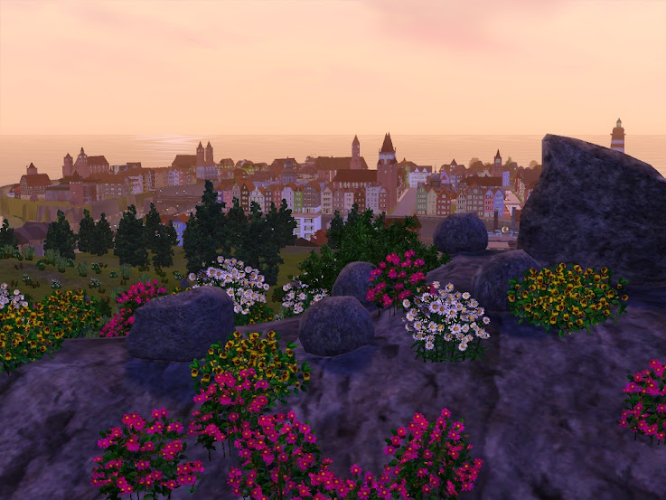rocks muntains sims3 download world