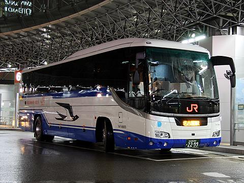 JR東海バス「北陸ドリーム名古屋号」 744-08955 金沢駅改札中