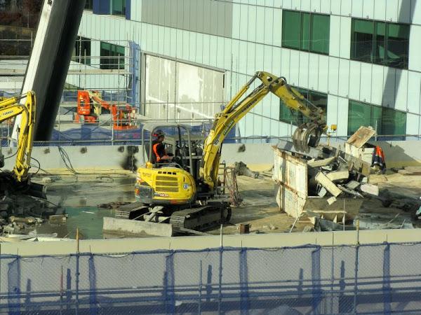 rooftop excavator