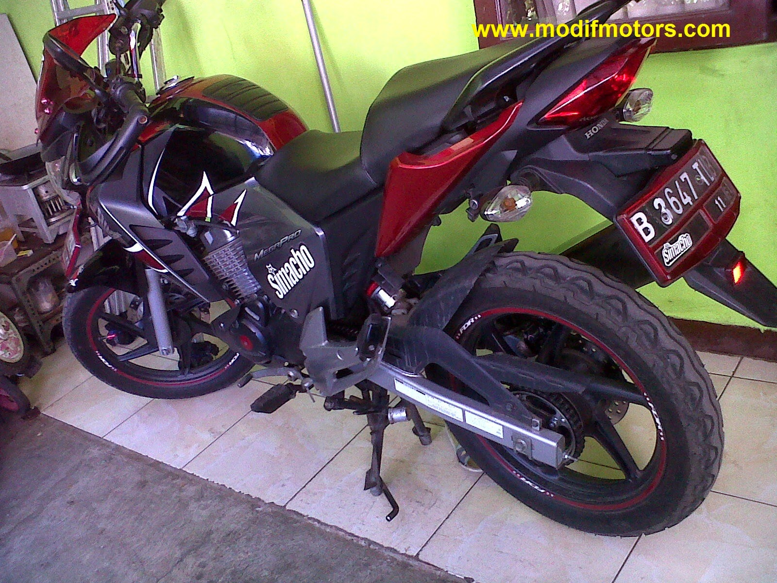 New Megapro Modifikasi Cbr