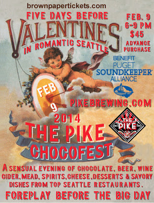 Pike Brewing Chocofest 2014 flyer