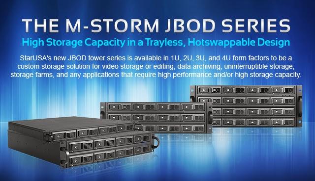 M-Storm JBOD Series
