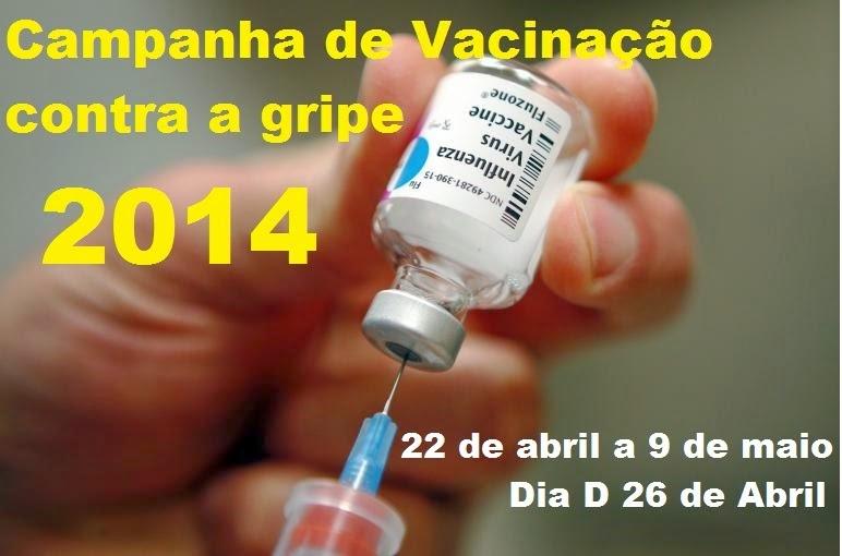 Campanha nacional de vacinação contra a H1N1.