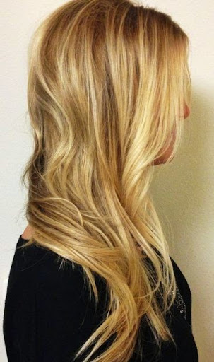 blonde and brown hairstyles