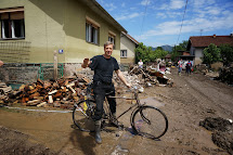 Flood intervention in Bosnia and Serbia