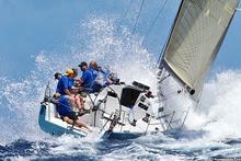 J/125 sailing Antigua Race Week