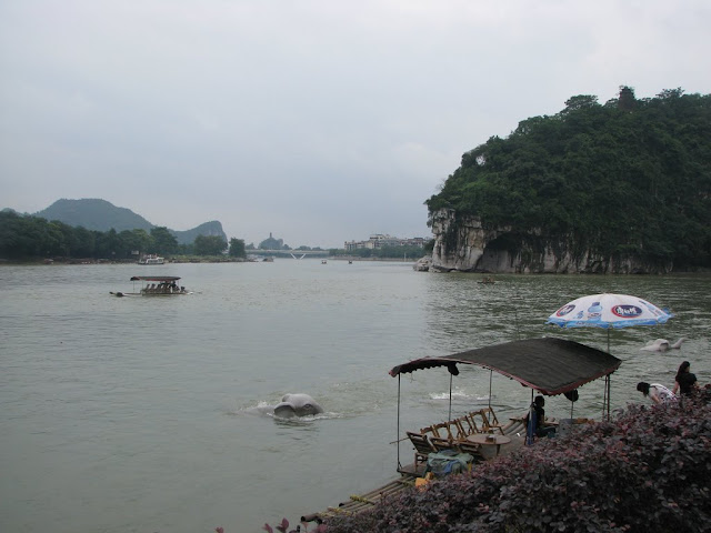 Junction of Li River and Peach Blossom River, Elephant Trunk Hill