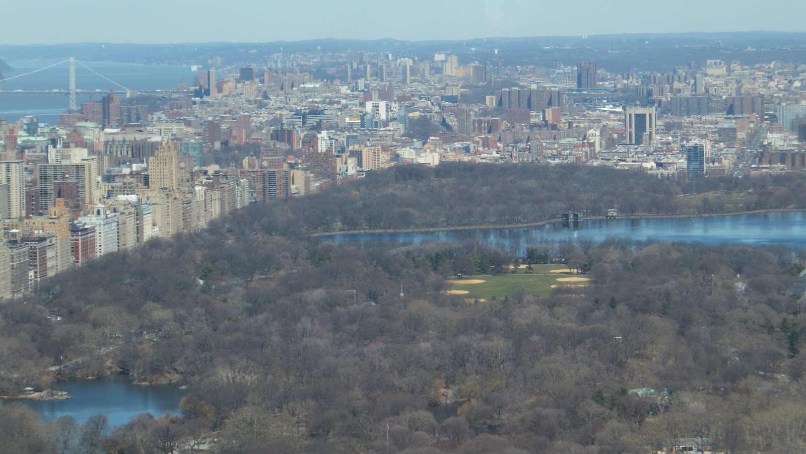 Central Park, Observatory Deck, Top of the Rock, Rockefeller Center, New York