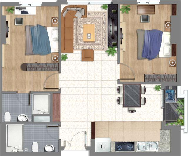 Căn hộ An Bình, chung cư An Binh, cao ốc An Bình - Thiết kế