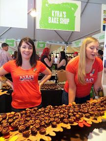 Oregon Bounty Grand Tasting, Friday, Kyra's Bake Shop