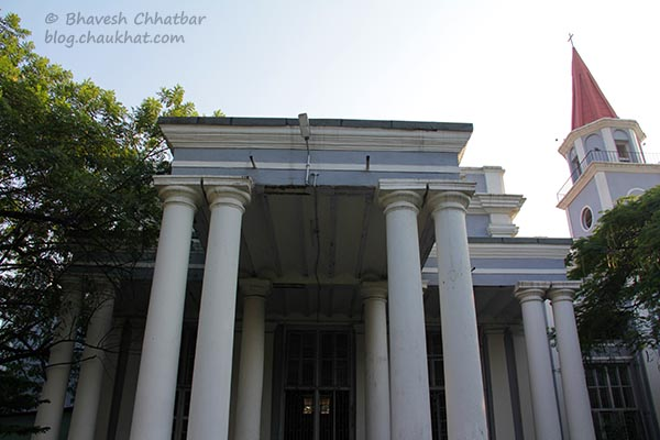 A building in the premises of St. Mary's Church, Pune