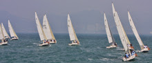 J/80 one-design sailboat- sailing Hong Kong Championship