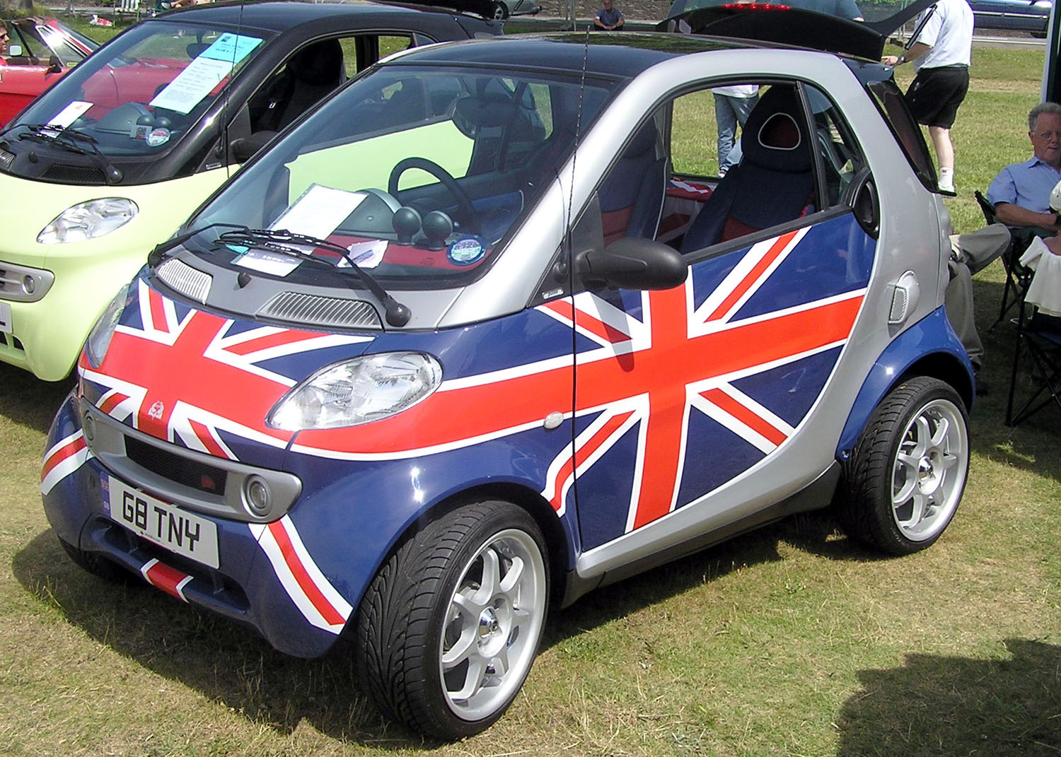 The Most British of Smart  Cars
