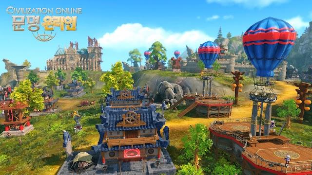 Cận cảnh gameplay của Civilization Online 8