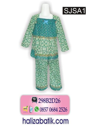model baju batik anak, model batik 2015, busana muslimah