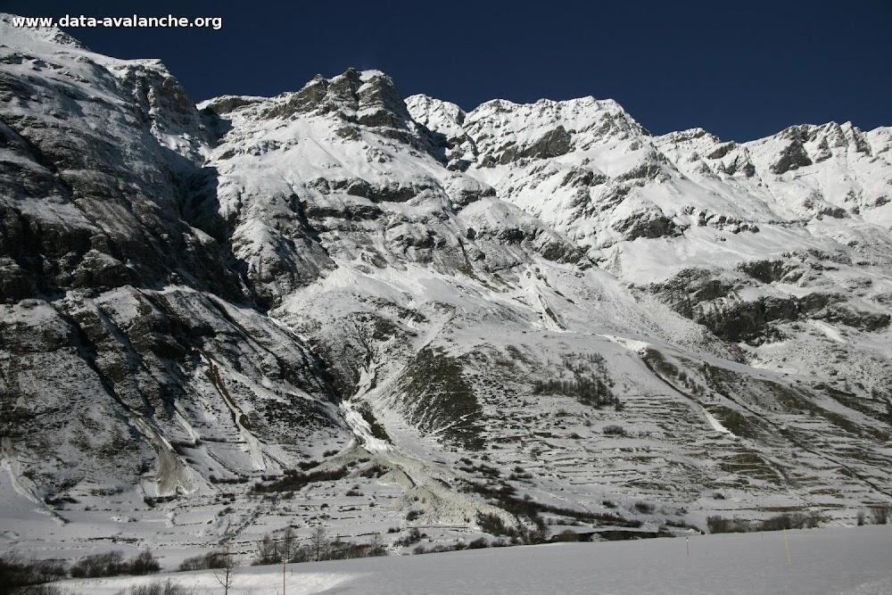 Avalanche Haute Maurienne, secteur Pointes du Châtelard, Couloir de Rebon. RD 902 - Photo 1