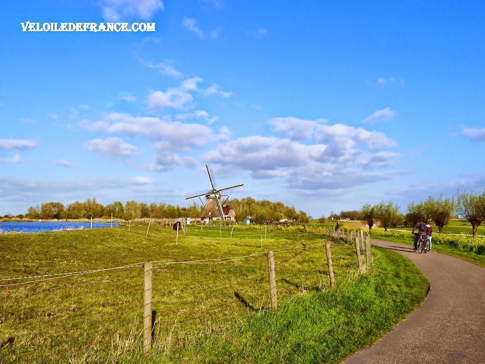Campagne bucolique - E-guide balade Evasion à vélo autour de Leiden par veloiledefrance.com