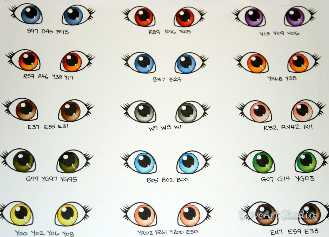 Color determination chart eye color determination chart nvjuhfo Image collections
