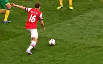 Ramsey, Arsenal - Norwich