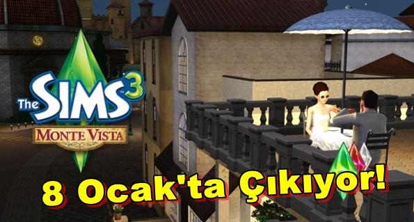 The Sims 3: Monte Vista 8 Ocak'ta Çıkıyor!