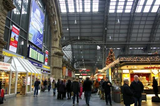 ドイツ・フランクフルト中央駅