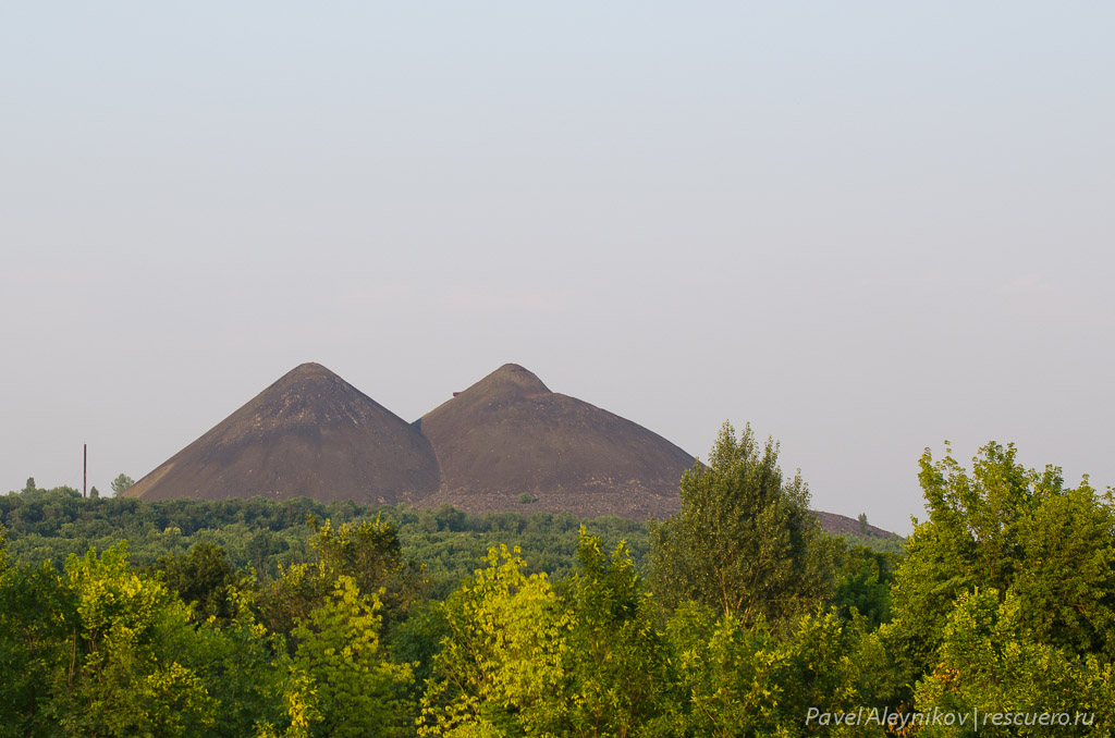 Терриконы шахты Киселева