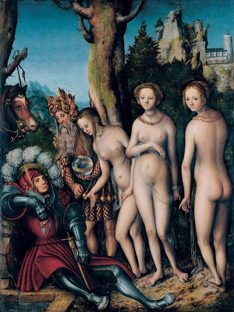 Lucas Cranach the Elder - Judgement of Paris