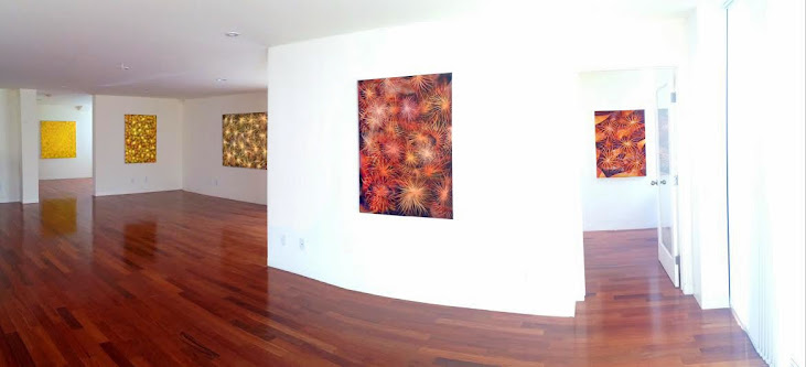 Victor Angelo Artist Paintings Earth Tones Modern Interior Architecture