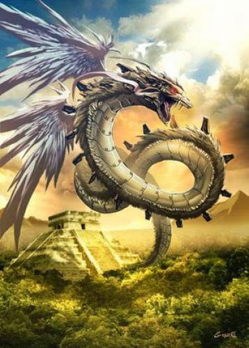 Quetzalcoatl Ancient American Dragon