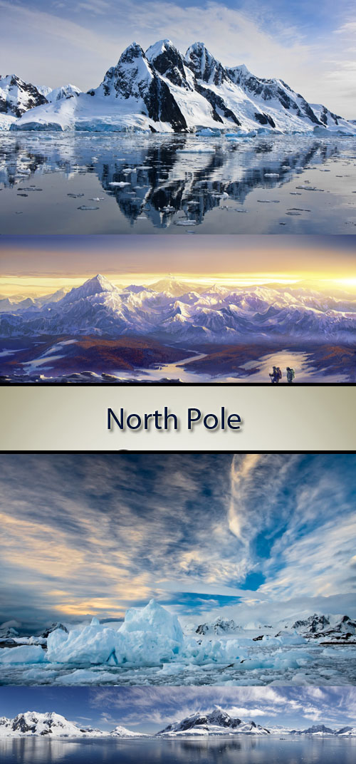 Stock Photo: North Pole