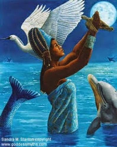 Yemaya Mother Goddess Of The Ocean
