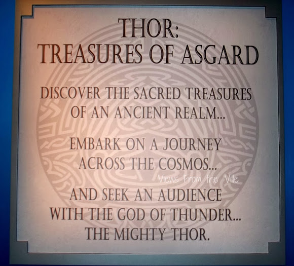 The Thor: Treasures of Asgard Exhibit at Disneyland #ThorDarkWorldEvent