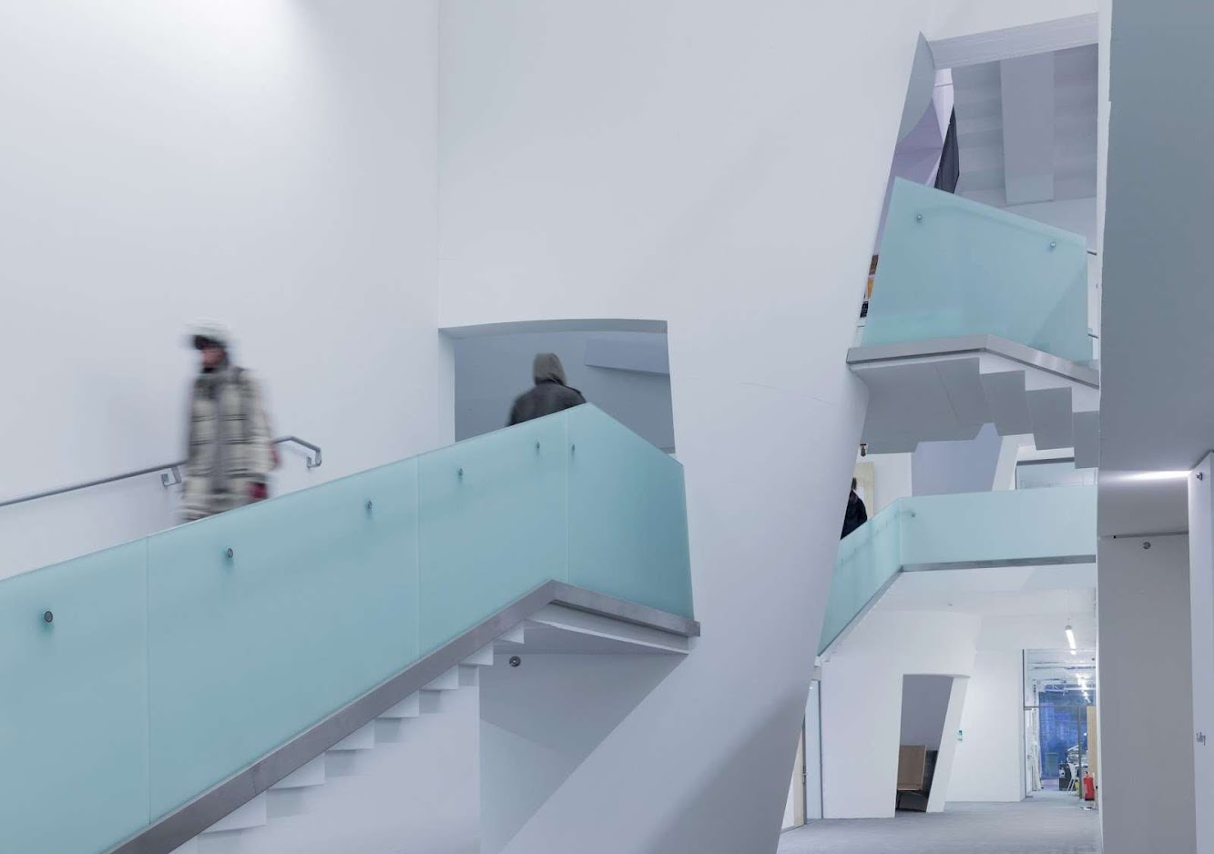 Seona Reid Building by Steven Holl Architects