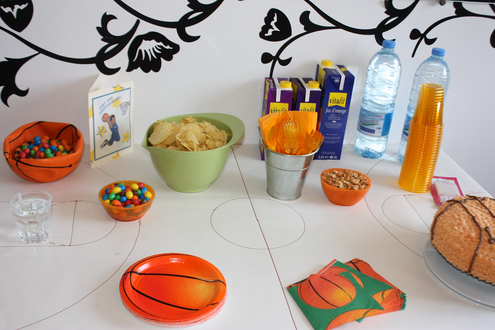 Ma Nouvelle Mode Basketball Themed Birthday Party