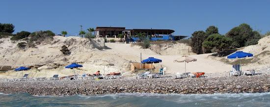 plaża i restauracja theologos beach na Kos