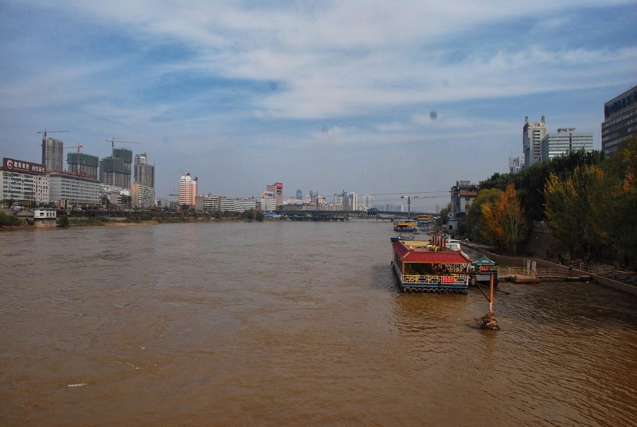Ланьчжоу, река Хуанхе