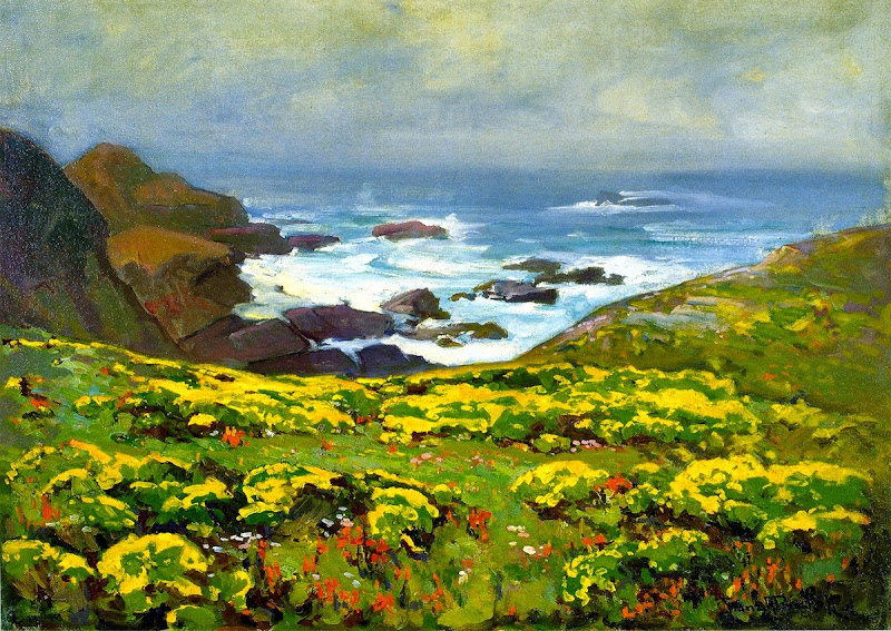 Franz Bischoff - Morning Mist, Monterey Coast