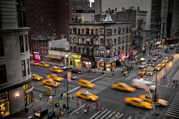 Nueva York, Taxis