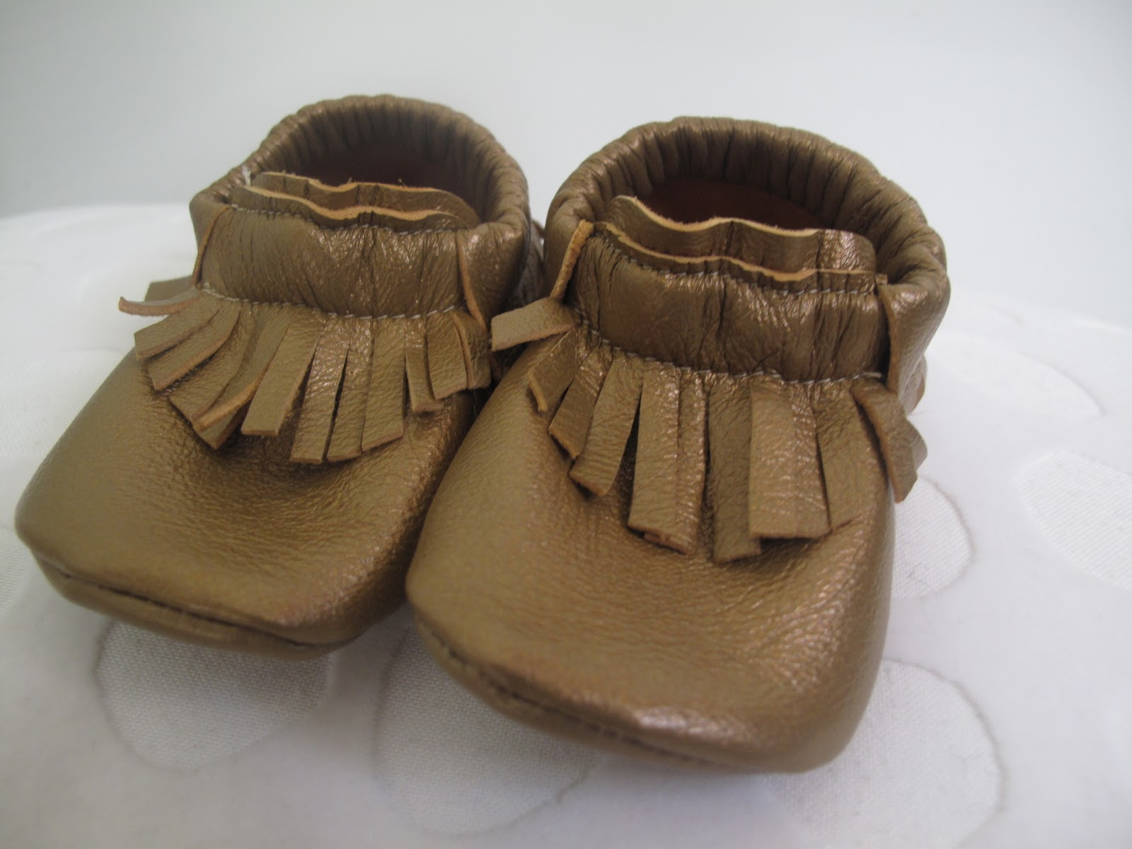 The Mary Frances Project Leather Baby Shoes