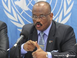 Le général Abdallah Wafy, Représentant spécial adjoint du secrétaire général de l'ONU chargé de l'Est de la RDC. Radio Okapi/ Ph. John Bompengo