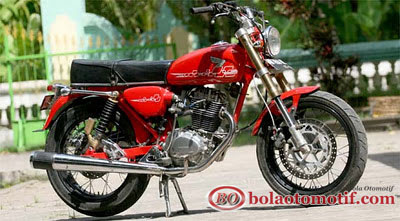 Modifikasi Honda CB 100 Jadul_1