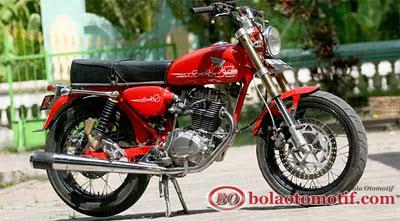 Kumpulan Gambar Modifikasi Motor Honda CB 100 Jadul Keren dan Unik title=
