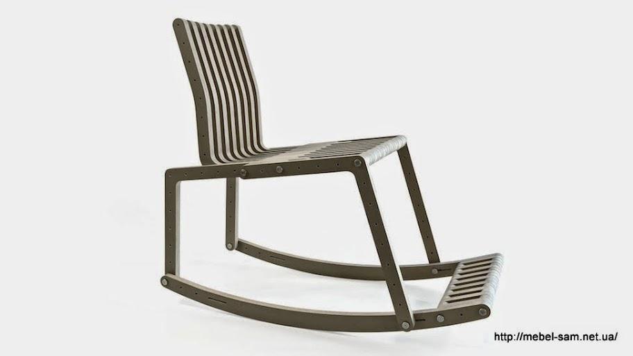 Из конструктора можно собрать кресло качалку