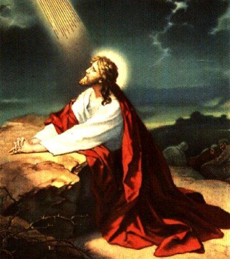 Par Jēzus lūgšanu Ģetzemanes dārzā