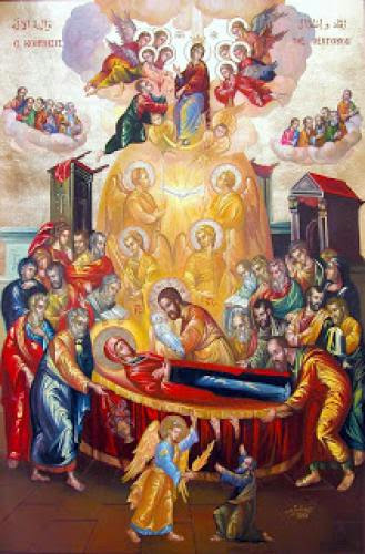 The Theotokos And Mother Of The Light